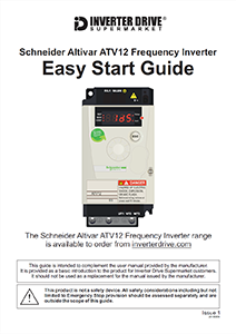 Schneider Altivar 12 Easy Start Guide