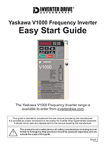 Yaskawa V1000 Easy Start Guide